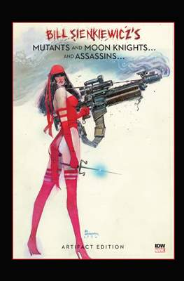 Bill Sienkiewicz's Mutants and Moon Knights...and Assassins... Artifact Edition