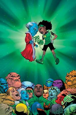 Green Lantern. Nuevo Universo DC / Hal Jordan y los Green Lantern Corps. Renacimiento #110/28