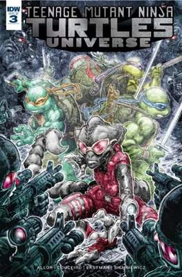 Teenage Mutant Ninja Turtles Universe (Comic Book) #3
