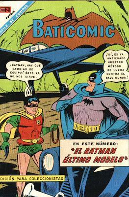 Batman - Baticomic (Rústica-grapa) #11