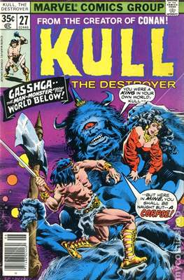 Kull the Conqueror / Kull the Destroyer (1971-1978) (comic-book) #27