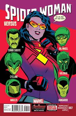 Spider-Woman (Vol. 5 2014-2015) (Comic-book) #7