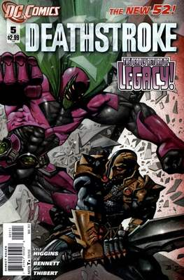 Deathstroke (2011-2013) (Comic Book) #5