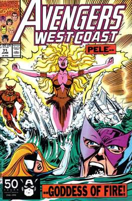 West Coast Avengers Vol. 2 (Comic-book. 1985 -1989) #71