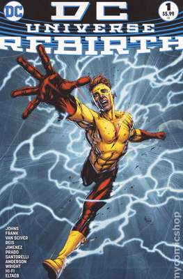 DC Universe Rebirth (2016) (Grapa) #1.4