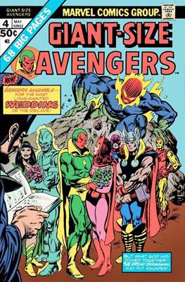 Giant-Size Avengers (1974-1975) (Comic Book) #4