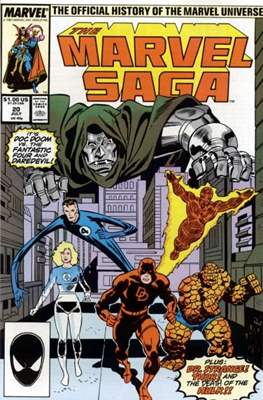 Marvel Saga (Comic-book.) #20