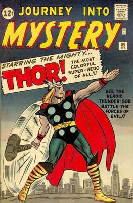Journey into Mystery / Thor Vol 1 (Comic Book) #89