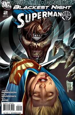 Blackest Night: Superman (2009) (saddle-stitched) #2
