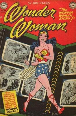 Wonder Woman Vol.1 (1942-1986; 2020-) (Comic Book) #45