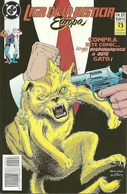 Liga de la Justicia Europa (1989-1992) (Grapa) #22