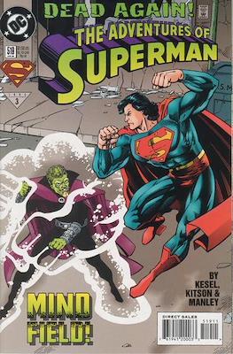 Superman Vol. 1 / Adventures of Superman Vol. 1 (1939-2011) (Comic Book) #519