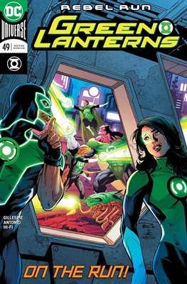 Green Lanterns Vol. 1 (2016-2018) (Comic-book) #49