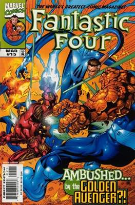 Fantastic Four Vol. 3 (Comic Book) #15
