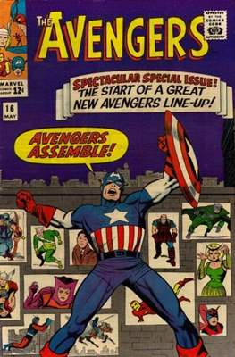 The Avengers Vol. 1 (1963-1996) (Comic Book) #16