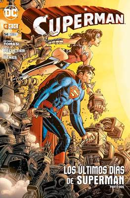 Superman. Nuevo Universo DC / Renacimiento (Grapa) #54