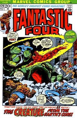Fantastic Four Vol. 1 (1961-1996) (saddle-stitched) #126