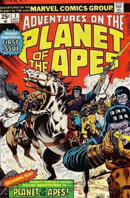 Adventures on the Planet of Apes #1