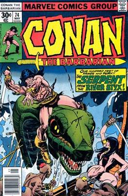 Conan The Barbarian (1970-1993) (Comic Book 32 pp) #74