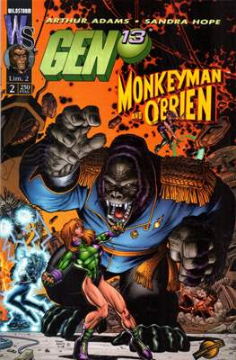 Gen 13 / Monkeyman and O`Brien (Grapa 24 pags.) #2