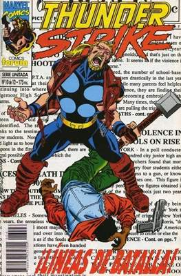 Thunderstrike (1994-1995) (Grapa. 17x26. 48/24 páginas. Color) #10
