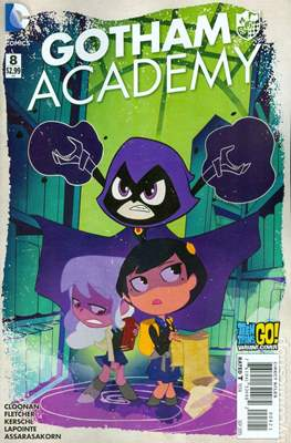 Gotham Academy (2014-2016 Variant Covers) #8