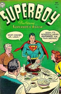 Superboy Vol.1 / Superboy and the Legion of Super-Heroes (Comic Book) #36