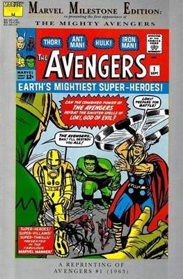 Marvel Milestone Edition: The Avengers 1