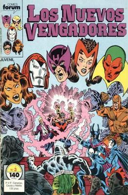 Los Nuevos Vengadores Vol. 1 (1987-1994) (Grapa 32 pp) #3