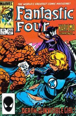 Fantastic Four Vol. 1 (1961-1996) (saddle-stitched) #266