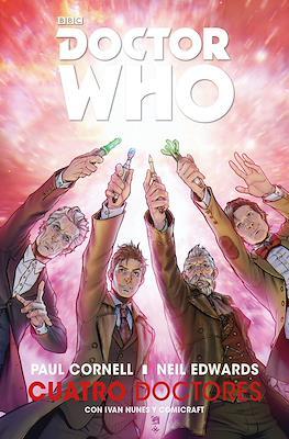 Doctor Who: Cuatro Doctores (Rústica 128 pp) #
