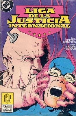Liga de la Justicia / Liga de la Justicia internacional / Liga de la Justicia de America (1988-1992) (Grapa) #14