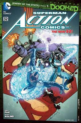 Action Comics Vol. 2 (2011-2016) (Grapa) #32