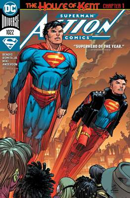 Action Comics Vol. 1 (1938-2011; 2016-) (Comic Book) #1022