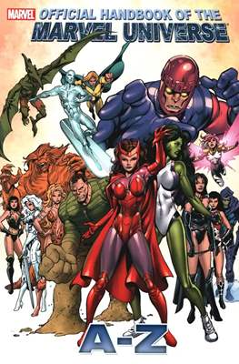 Official Handbook of the Marvel Universe A-Z #10