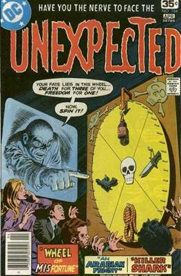 The Unexpected (Comic Book) #184