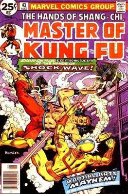Master of Kung Fu (Comic Book. 1974 - 1983. Continued from Special Marvel Edition #16) #43
