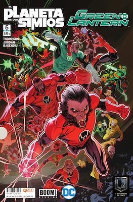 Green Lantern / El Planeta de los Simios (Grapa 24 pp) #5