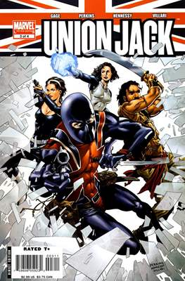 Union Jack Vol. 2 (2006-2007) (Grapa) #3