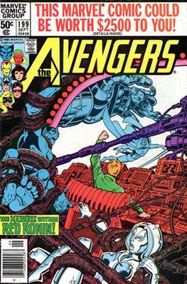 The Avengers Vol. 1 (1963-1996) (Grapa) #199