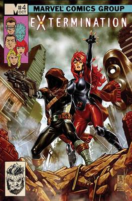 Extermination (Comic book) #4
