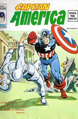 Capitán América Vol. 2 (Grapa. 1974-1975) #2