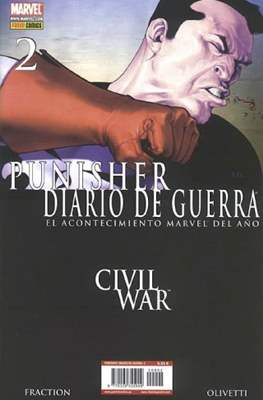 Punisher: Diario de guerra (2007-2009) (Grapa.) #2