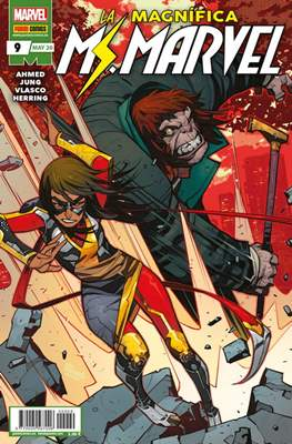 La Magnífica Ms. Marvel (2019-) (Grapa 24 pp) #9