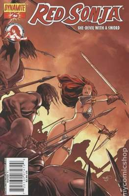 Red Sonja (Variant Cover 2005-2013) #25