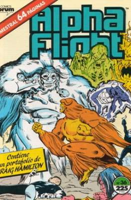 Alpha Flight Vol. 1 / Marvel Two-in-one: Alpha Flight & La Masa Vol.1 (1985-1992) (Grapa 32-64 pp) #36