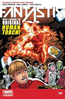 Fantastic Four Vol. 5 #9