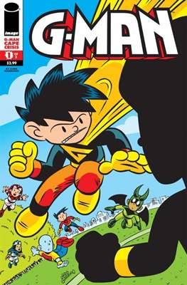 G-Man Cape Crisis (Comic Book 24 pp) #1
