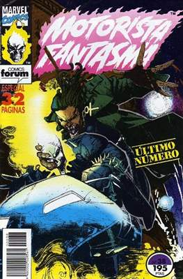 Motorista Fantasma (1991-1994) (Grapa. 17x26. 24 páginas. Color. (1991-1994).) #38