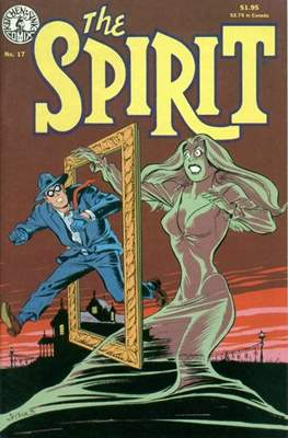 The Spirit (1983-1992) (Comic book. 32 pp) #17
